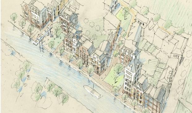 <p>De woningen moeten passen bij het dorpse karakter van Cruquius.</p>