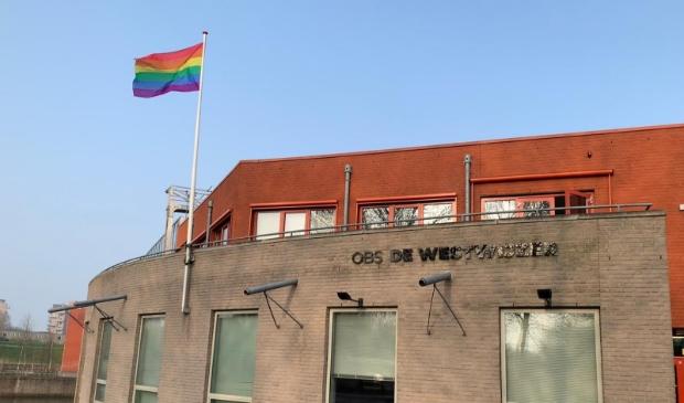 <p>Pride vlag</p>