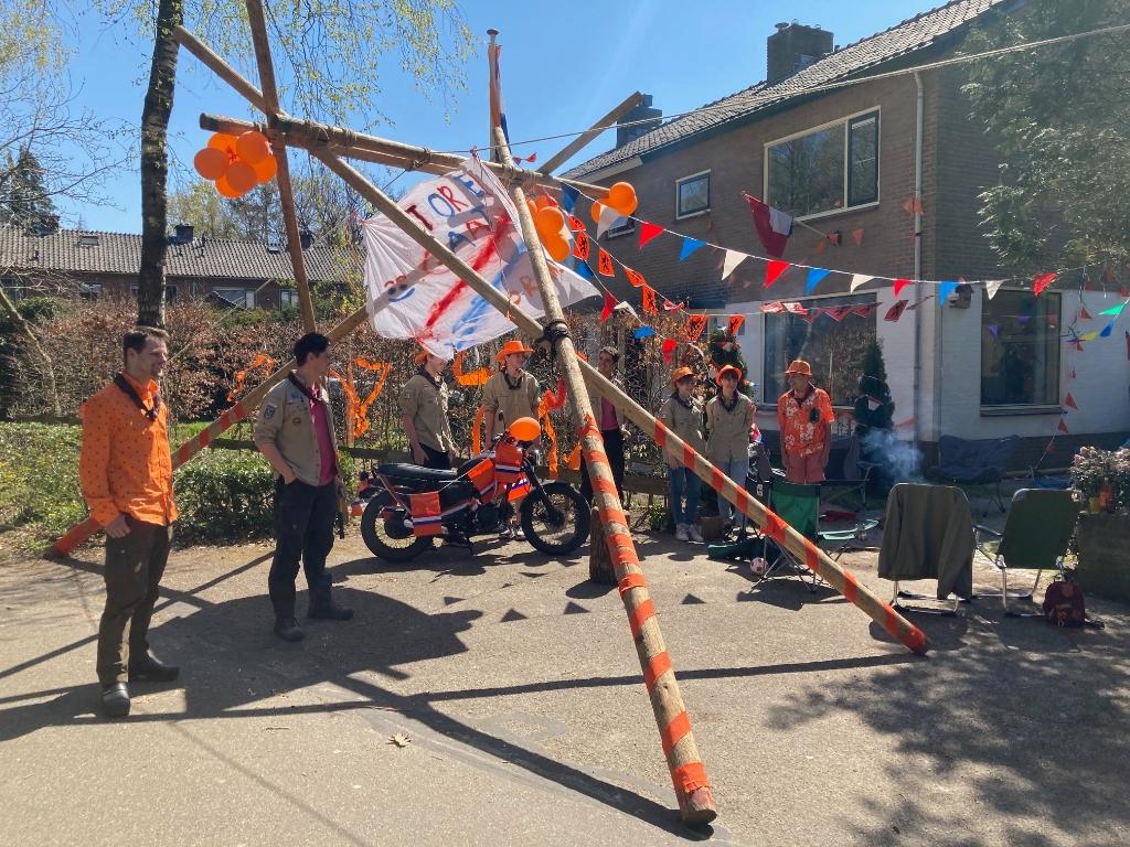 Scouting aan de Piet Heinlaan. Oranjevereniging Doorn © BDU