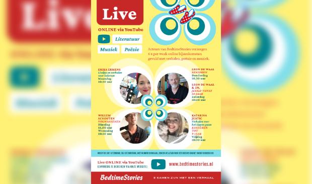 Weekprogramma Stichting BedtimeStories
