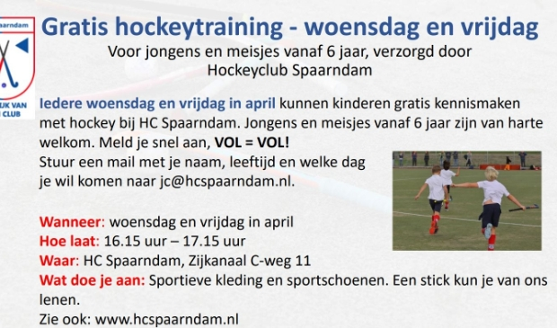 Flyer gratis training
