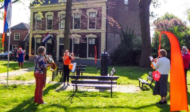 Ook in Schalkwijk wordt Koningsdag niet overgeslagen