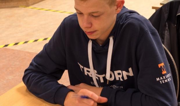 Maarten Hartkoren startte sterk