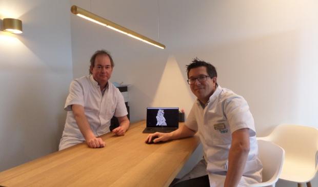 <p>De twee zeer ervaren neurochirurgen drs. Bernard Hummelink en drs. Wim Bouwknegt van Medische Kliniek Velsen.&nbsp;</p>