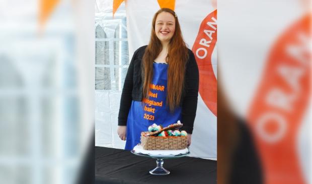 <p>Jasmijne van Noort, de winnaar van de wedstrijd.</p>