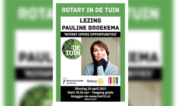 Pauline Broekema geeft lezing