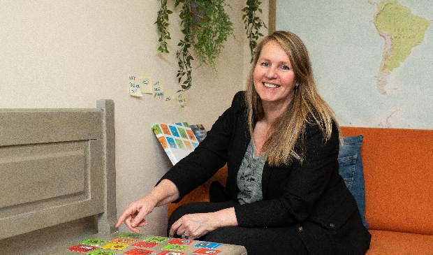 Greta Schepens van Instituut HIP geeft LOF-trainingen: leren omgaan met faalangst.