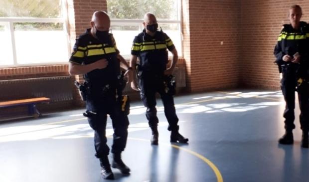 <p>De politie heeft afspraken gemaakt met de ouders en de directrice van de school</p>