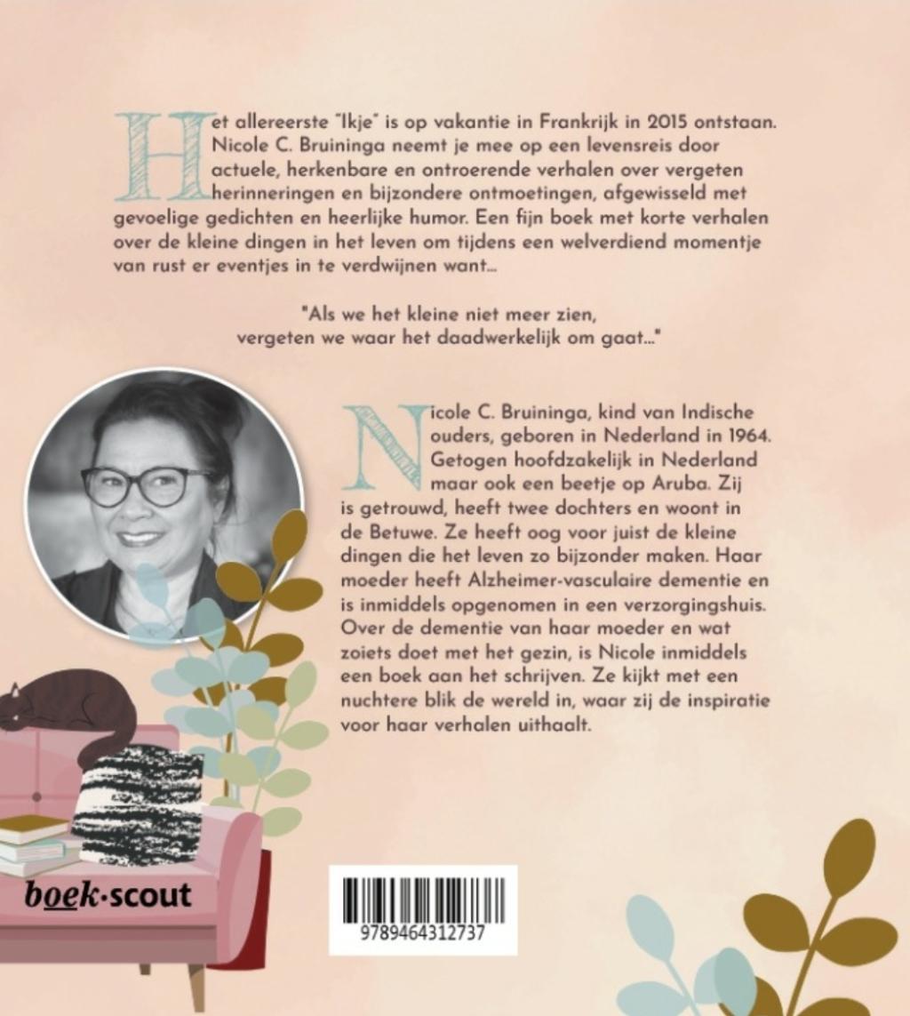 Achterkant boek Mijn Ikjes en Ik  Vrij van recht Adobe stock © BDU media