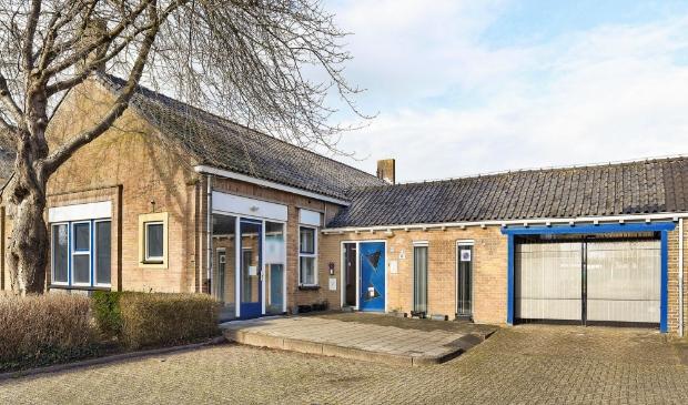 Het voormalige politiebureau aan de Eugénie Prévinaireweg in Nieuw-Vennep.