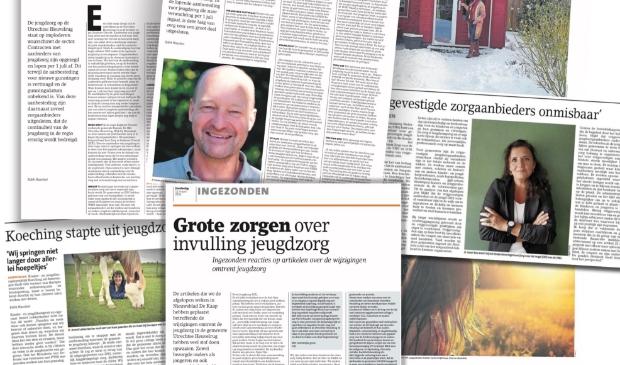 <p>Overzicht van een deel van de recente publicaties over de lokale jeugdzorg in Nieuwsblad De Kaap en Stichtse Courant.</p>