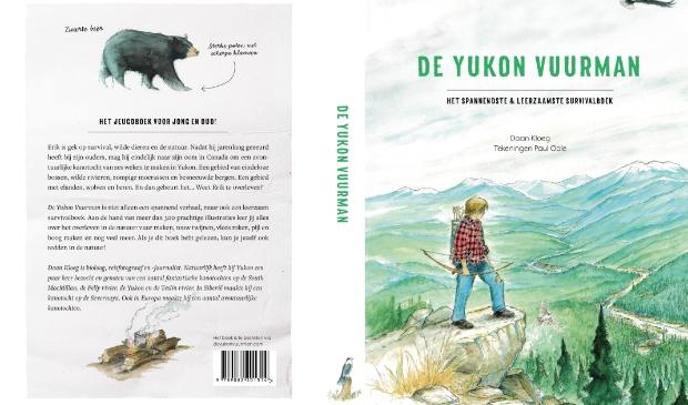 Omslag De Yukon Vuurman voor- en achterkant.