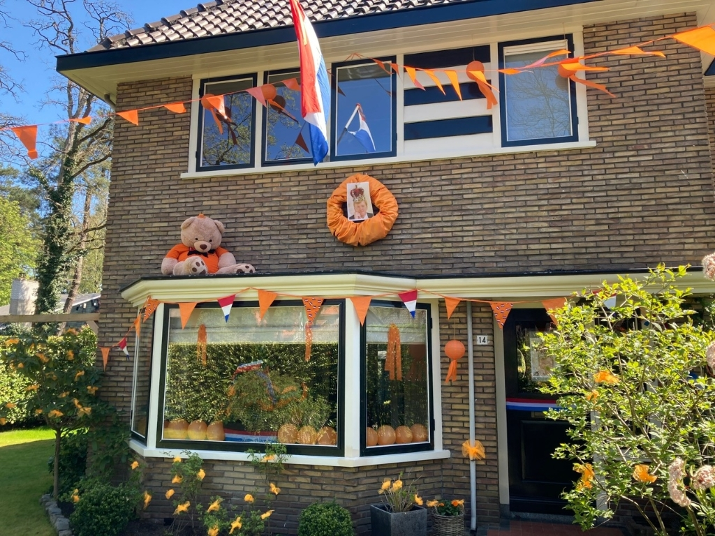 Tweede prijs, Koninginneweg. Oranjevereniging Doorn © BDU