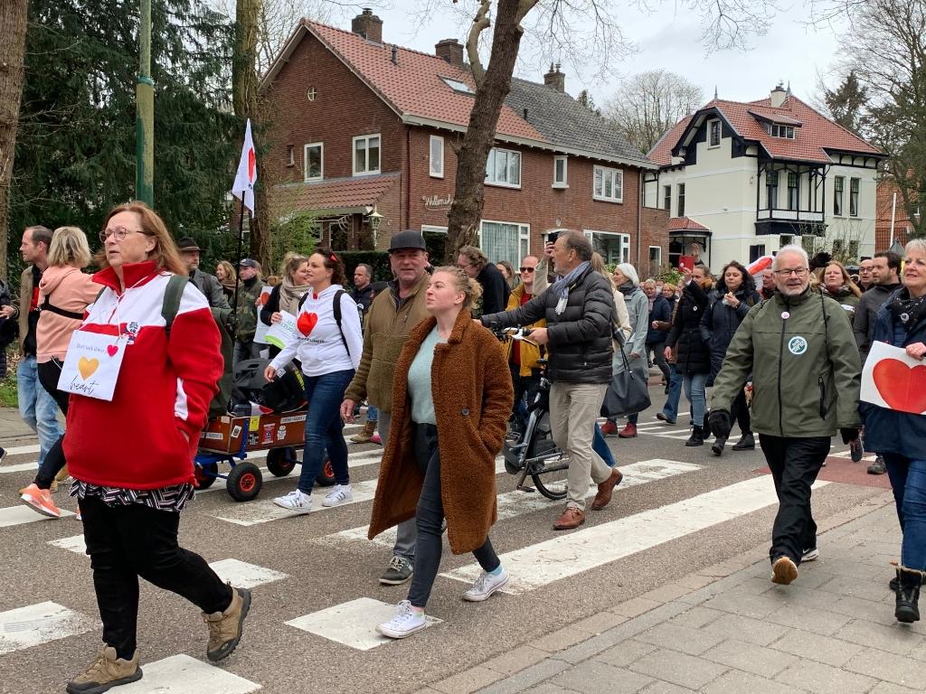 Protest tegen lockdown, Eemnesserweg Hans Veltmeijer © BDU media
