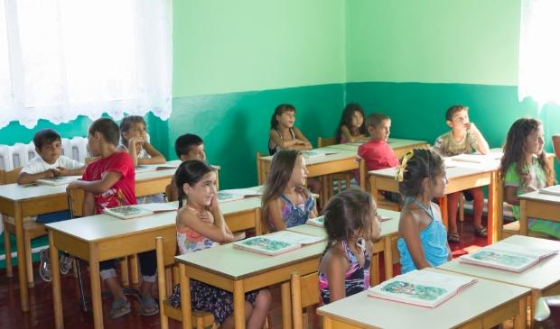 Romakinderen in Oekraïne