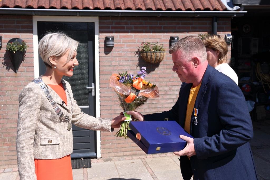 Jan van Rooijen Lid in de Orde van Oranje Nassau Barry Bosman © BDU media