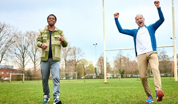 <p>Typhoon en Erben Wennemars zijn de ambassadeurs van de verkiezing Club van het Jaar.</p>