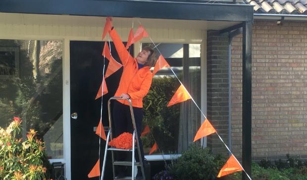 <p>Trudy Schippers nodigt Puttenaren uit hun huis te versieren voor Koningsdag.&nbsp;</p>