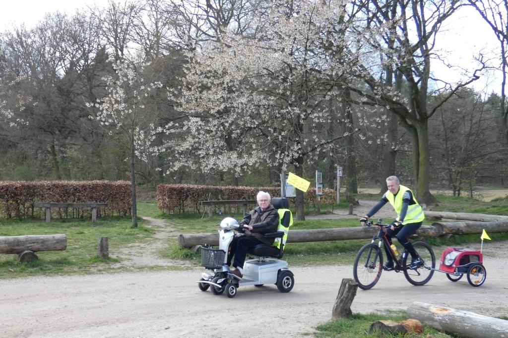 Benodigdheden voor onderweg mee in fietsaanhanger I. Keurntjes © BDU Media