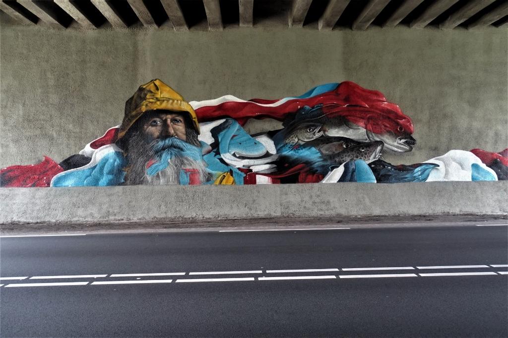 Streetart Hans Blomvliet © BDU media