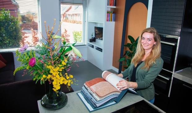<p>Melleni van Middendorp uit Kootwijkerbroek is het gezicht achter Melleni Design.</p>