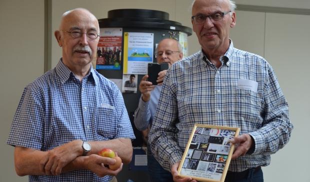 Oprichter van FKR Chris de Gier (links) en Piet Douma