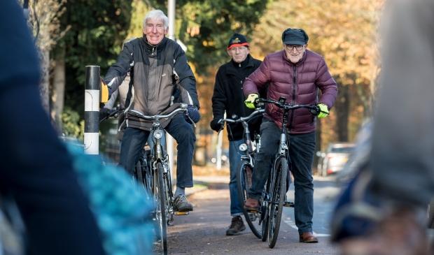 Senioren op de fiets