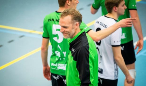 <p>Thijs van Noorden, speler/assistent bij het Barneveldse Bielderman Koetsier/SSS.</p>