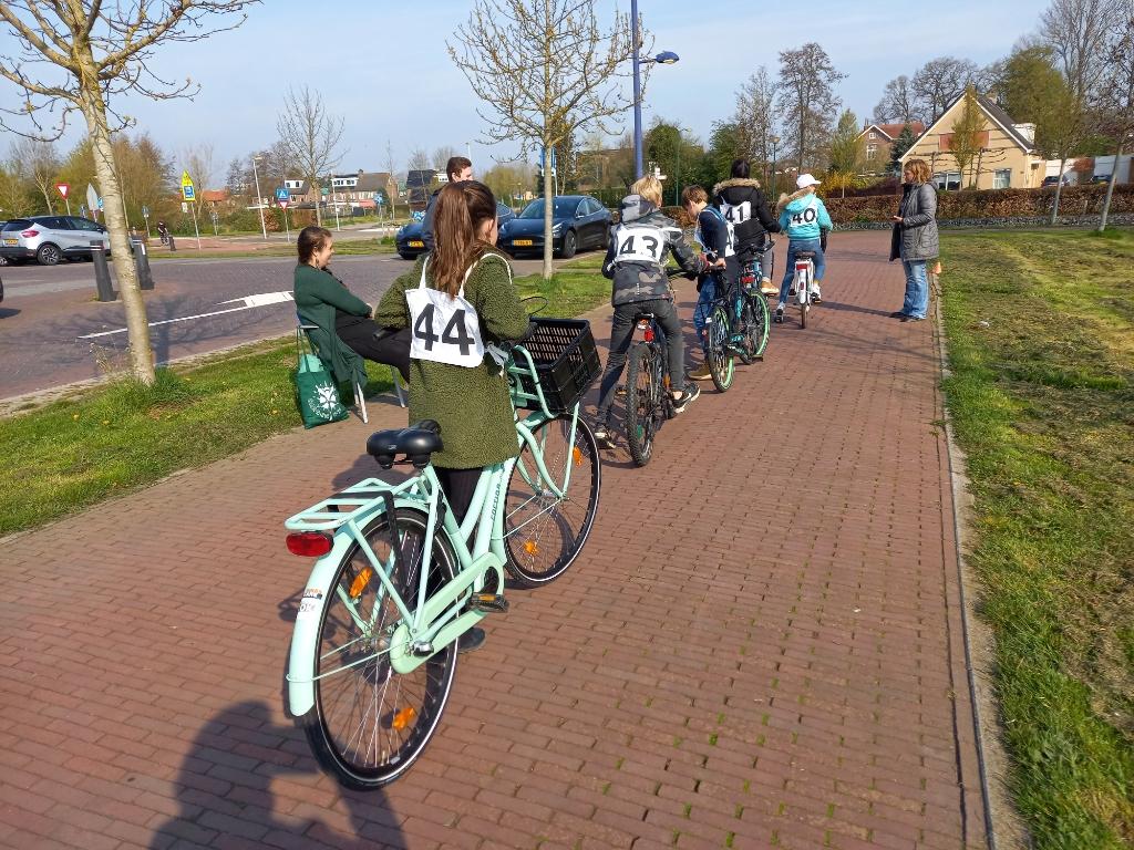 Klaar voor de start! An Van Osselaer © BDU media
