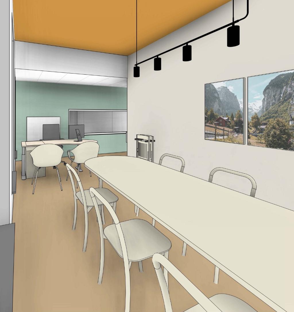 <p>Spreekkamer gezin Centrum voor oncologische zorg.</p> MMC © BDU media