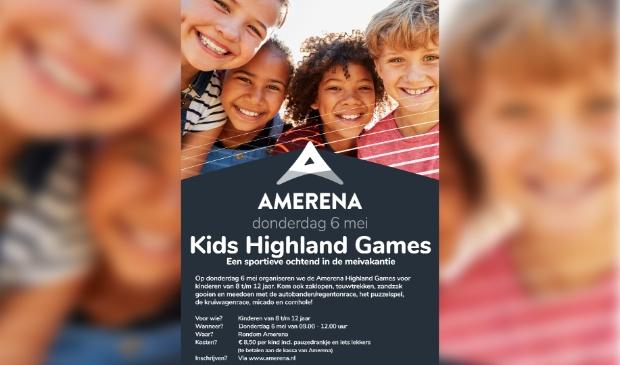 Aankondiging Amerena Kids Highland Games