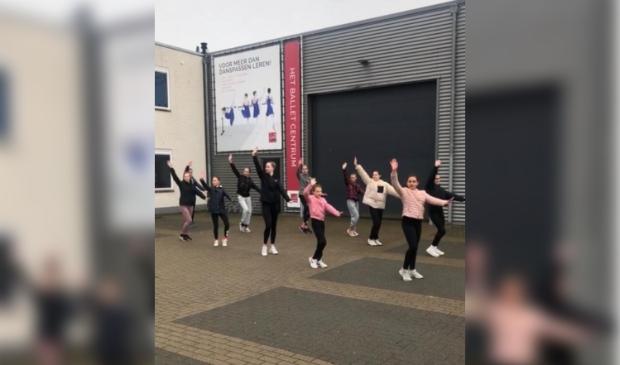 Ballet Centrum Bunnik voert actie