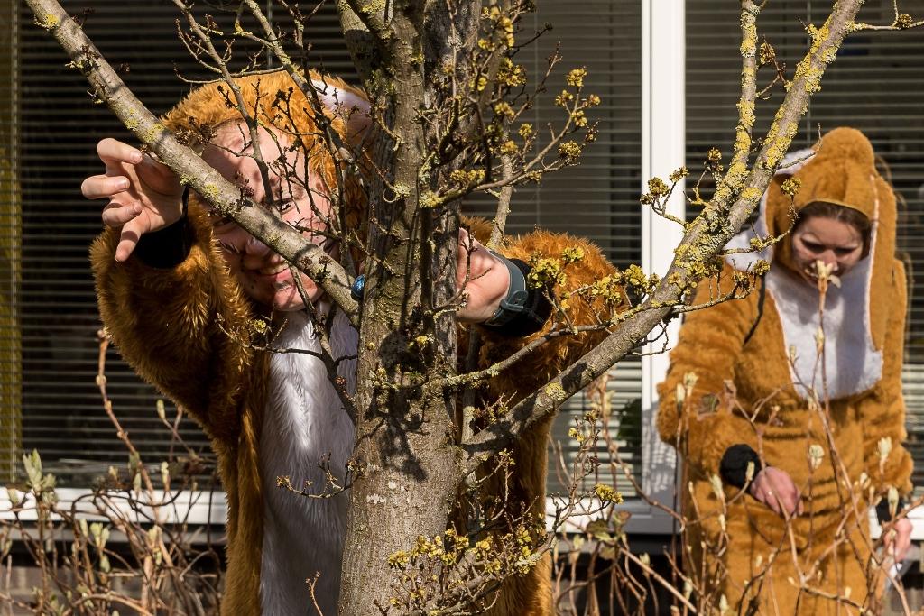 Paaseieren verstoppen bij de leden ® René van den Brandt © BDU media