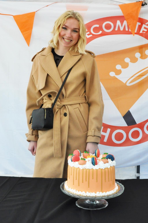 Lieke van de Poll eindigde op de tweede plek Oranje Comité Hoogland © BDU media
