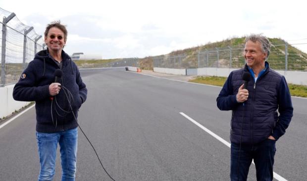 <p>Radio- en televisiemaker Ger Loogman spreekt op Circuit Zandvoort met Jan Lammers.</p>