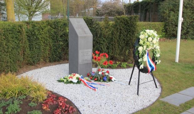 Monument aan de Voorthuizerstraat.