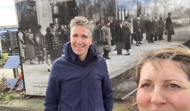 GroenLinks Ouder Amstel op bezoek bij Stationspark Deurne