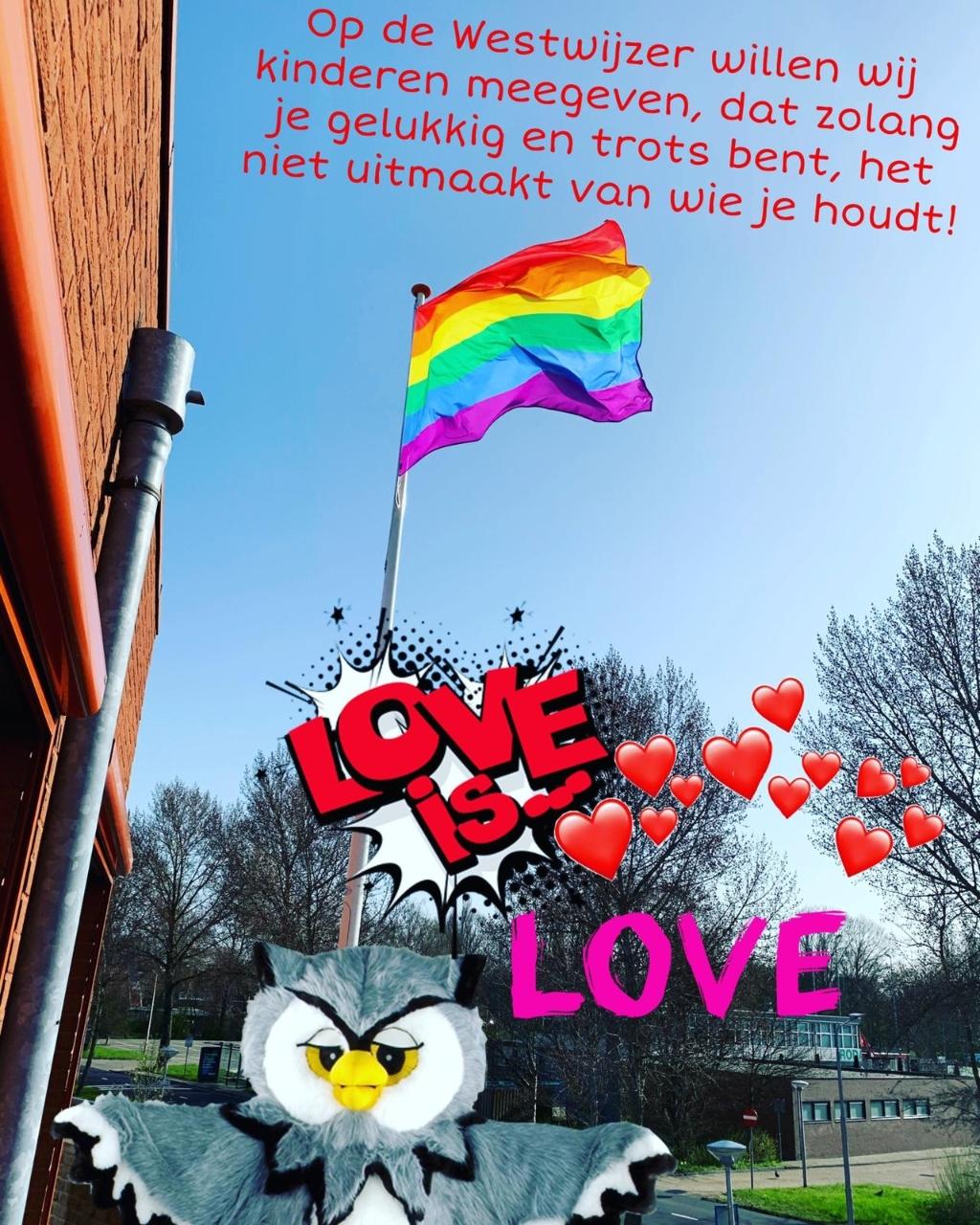 Pride vlag  Ruud © BDU media