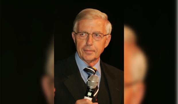 Heinze Bakker presenteerde in de beginjaren van het evenement het Leusdense Sportgala.