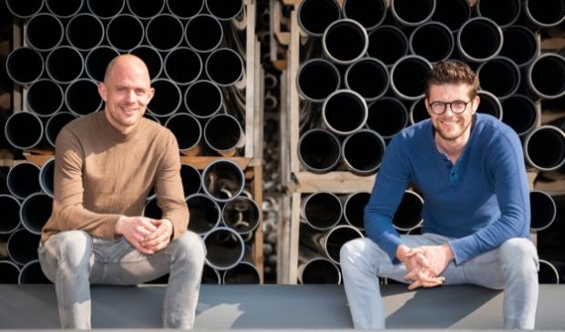 <p>Frank van Roekel en Maas Westeneng.</p>