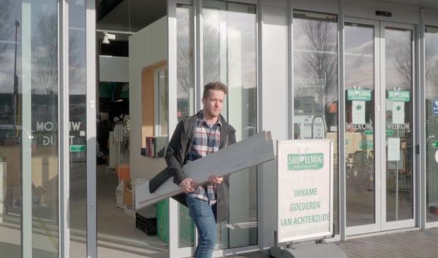 Hoe mooi is het als herbruikbare bouwmaterialen weer hun weg vinden naar een woonhuis?
