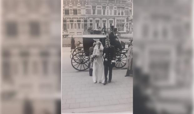 Bruiloft Huug en Hilda 1956 Groningen