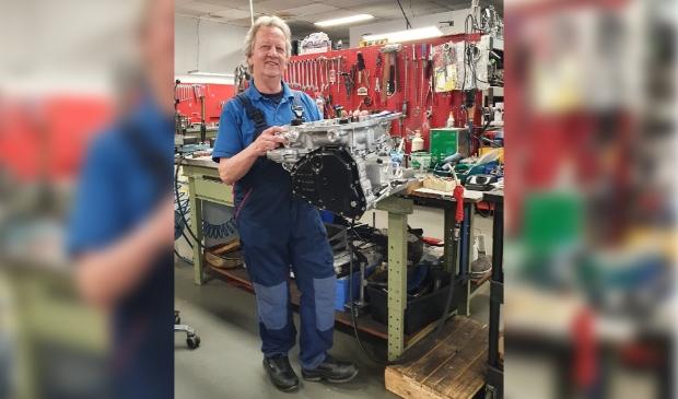 Gert Schoeman, revisiemonteur Autrans Parts & Service BV