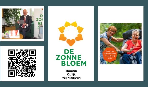 Eerste Zonnebloemloten gekocht door burgemeester Ruud van Bennekom