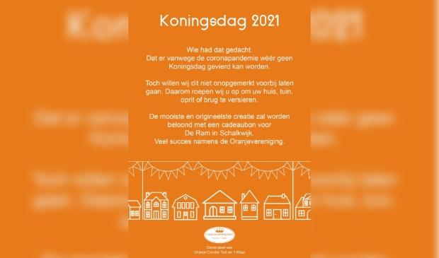 Tekst over de activiteiten op Koningsdag