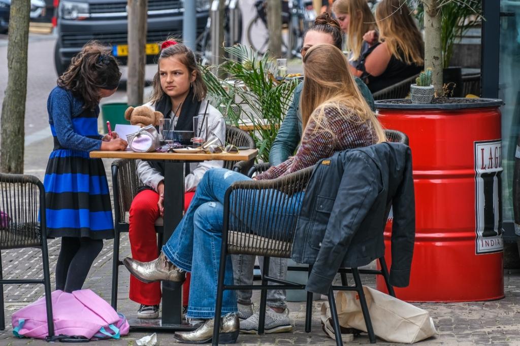 Terassen gaan weer open in Hoofddorp Jan Aukes © BDU media