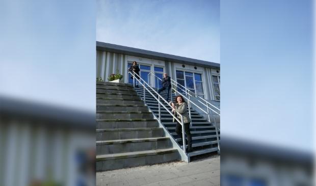 <p>Co&ouml;rdinatoren Coach4You Jacqueline Riphagen, Gerard Voskuilen, Conny van der Bijl.</p>