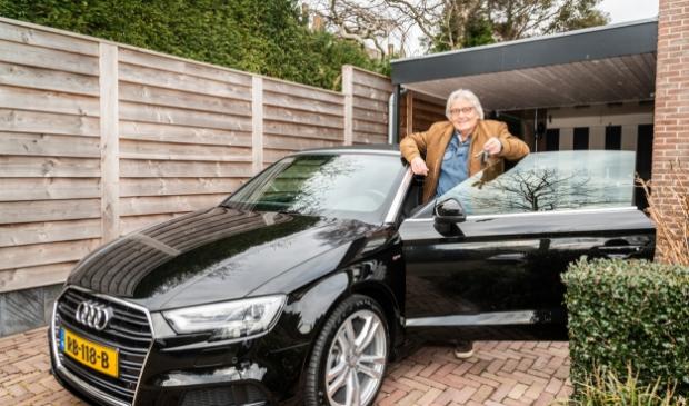 <p>Als het gips van zijn enkel is, gaat Wessel Willemsen snel weer op pad met zijn gepoetste auto.&nbsp;</p>