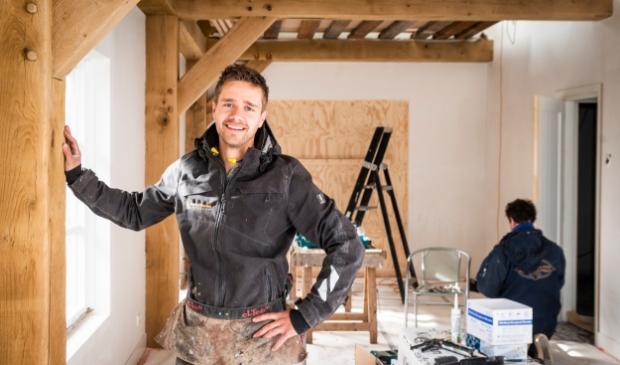<p>Gerard van Veldhuizen zoekt versterking voor zijn bedrijf.</p>