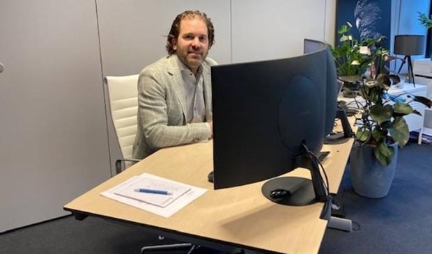 Stefan Eenhuizen, directeur van het Amstelveense bedrijf Beyond Energy.